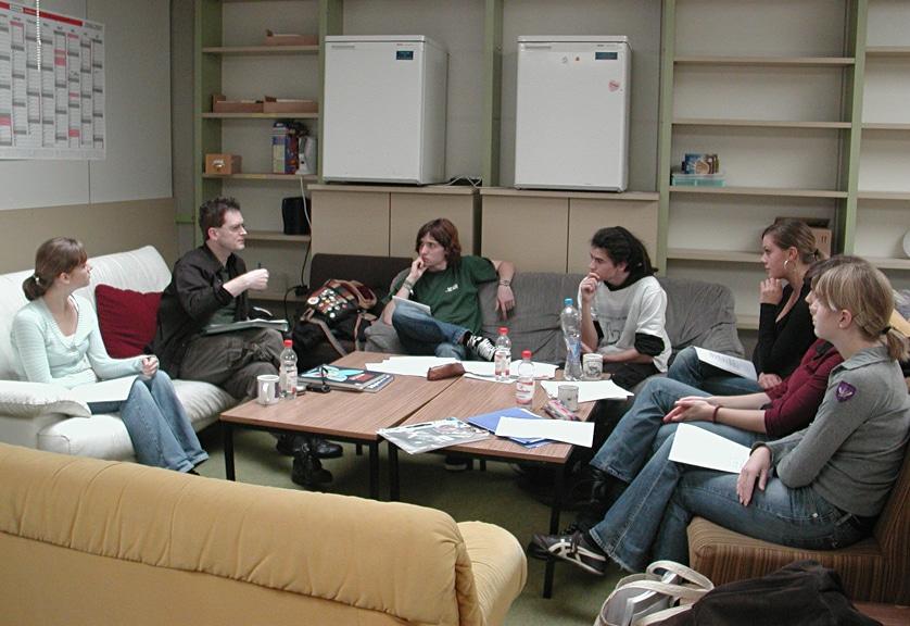 Schreibwerkstatt für Jugendliche in Obernburg/Main 2006