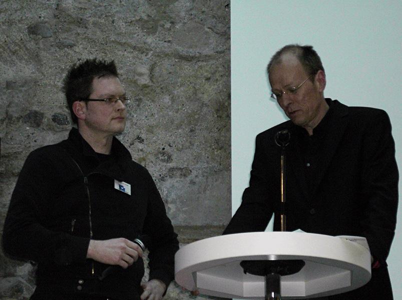 Interview im Rahmen der Ravensburger Salonnacht 2011 (A. Kosakowski)