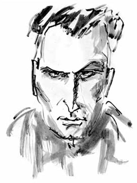 Karikatur Berliner Literaturkritik 05/07
