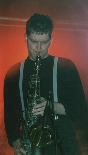 Lesung mit Musik 1998 (H. Huenig)