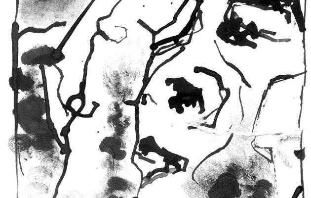 """Illustration zu """"Geist der schwarzen Tage"""" von Ulrich Wagner"""