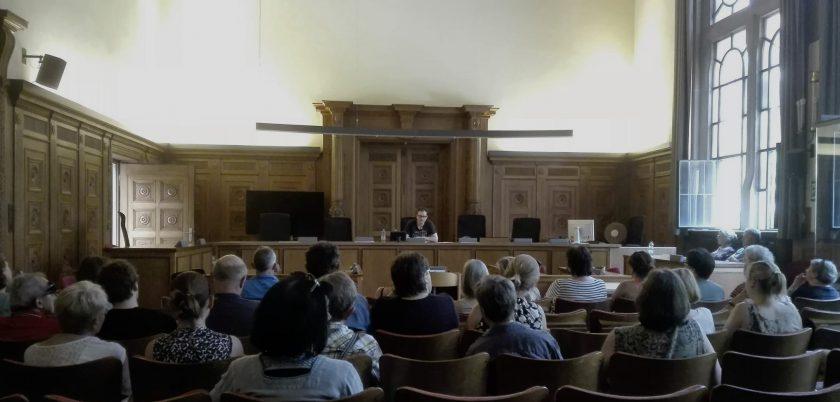 Lesung Martin von Arndt im Amtsgericht Tübingen 2017 im Rahmen des Bücherfests - (c) S. Buehler